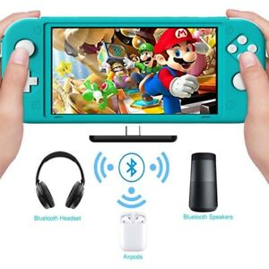 Audio Bluetooth Adapter Nintendo Switch lite/Switch Wireless Receive Transmitter