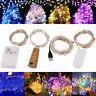 20/50/100 LED Fairy String Light Battery/USB Micro Rice Wire Party Xmas Decor Ya