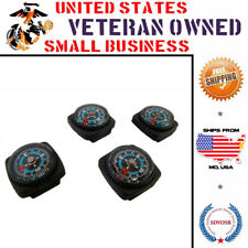 Type-III 4pc Liquid Filled Compass Set for Watchband or Paracord Bracelet EDC