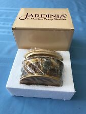 "Jardinia,Retired,""Ta lly Ho"" Hunting Dogs Trinket Box with Lid,#Jalrhd,Nib"