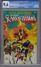 MARVEL & DC PRESENT X-MEN & TEEN TITANS #1 CGC 9.6 WHITE PAGES