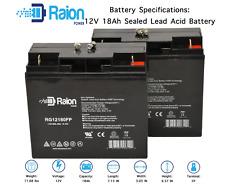 12V 18AH SLA Battery 2 Pack for APC Smart-Ups 1400, 1500 [UB12180 Replacement]