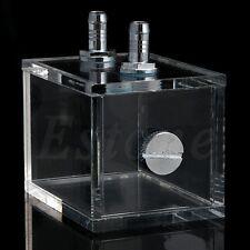 200ml Acrylic water tank cooler water cooling radiator pc cpu water block Hot