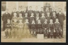 More details for postcard - church road school group 3,yardley, birmingham - real photo c1910