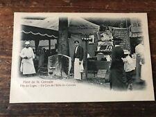 carte postale ancienne saint germain en laye N 8 fete des loges les cuisines