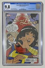 Secret Wars Secret Love 1 2nd Print CGC 9.8 Ms Marvel Kamala Khan 1 on Census