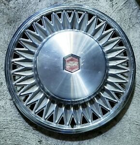 "(1) Vintage OEM 1978-80 Chevy Malibu 14"" Hubcap Wheel Cover pn 00464991 14018248"