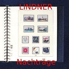 Lindner T-falzlos Contributo 2016 Repubblica federale Germania BRD (T120b) NEU