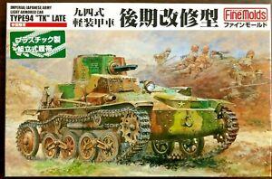 "1/35 Japanese Army Type 94 ""TK"" Late Model Tankette ~ Fine Molds FM19"