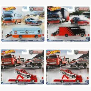 Hot Wheels 2021 Car Culture Team Transport Case K Set of 4 FLF56-956K Diecast