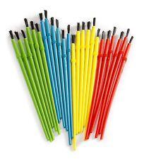 Darice 1181-79 Kids' Paint Brush Assortment -  24 brushes