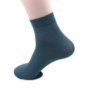 5/3/1Pairs Men's Elastic Silk Ankle Business Breathable Sport Casual  Stockings