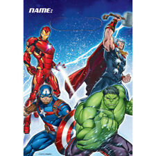 The Avengers / Marvel Avengers Party Supplies Plastic Lootbags 8pk