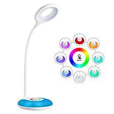 Lampe de bureau, hihigou DEL Dimmable Eye-Caring Lecture Lampe Rechargeable USB Touch C