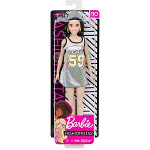 Barbie Fashionistas 110. Sporty Shine 59. Brand New Boxed Doll, NRFB.