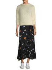 GANNI Dainty Georgette Wrap Skirt Size 32 Orig. $225 NWT