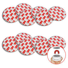 6x Magnethalterung Befestigung Sicherung Stabilisierung Rauchmelder Wand Decken