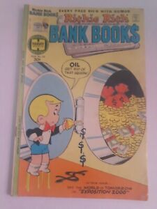 Harvey World Richie Rich Bank Books #30 Comic Book Free Combined Shipping!!!