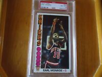 1976 TOPPS BASKETBALL EARL MONROE PSA GRADED 8 NM-MT