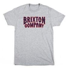 Brixton Bailey Tee Heather Grey Mens Tee Shirt XL BNWT