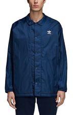 ADIDAS Originals Trefoil Coach Jacket Navy. SIZE L