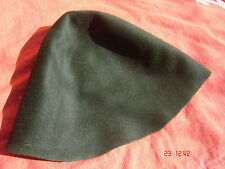 Hutstumpen Damen Herren Modist Zubehör Haarfilz dunkelgrün Stumpen 20-5