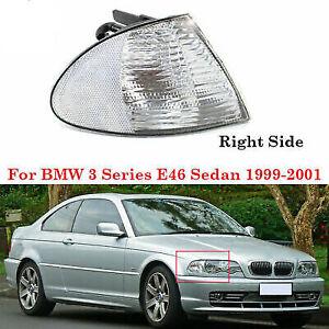 Right Clear Corner Signal Lights Lamp For BMW E46 3-Series Sedan 1999-2001
