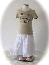 °Timberland° Basic T-Shirt beige mit Blumen 4 98 104 NEU