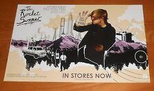 The Rocket Summer Do You Feel Poster 2-Sided Original Tour Promo 17x11 RARE