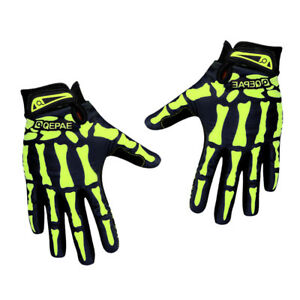 1 Pair Pretty Cycling Bike Gloves Antiskid Mountain Gel Full Finger Glove L