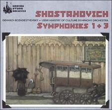 Rozhdestvensky Conducts Shostakovich Symphonies Nos. 1 & 3