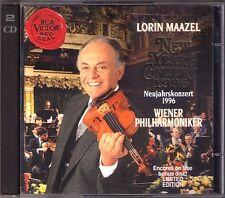 Neujahrskonzert aus Wien 1996 Lorin MAAZEL 2CD New Year's Concert from Vienna