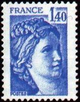 "FRANCE N°1975 ""SABINE DE LOUIS DAVID 1F40"" NEUF xx TTB"