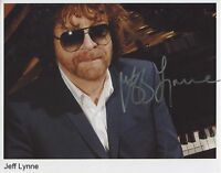 Jeff Lynne ELO  SIGNED Photo 1st Generation PRINT Ltd 150, No'd + Certificate /2
