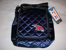 Atlanta Hawks Logo NBA Women's Navy Blue Quilted Purse Shoulder Bag New with Tag