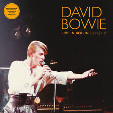 David Bowie Live In Berlin 1978 Brooklyn Mus. LTD ORANGE vinyl LP New in Shrink