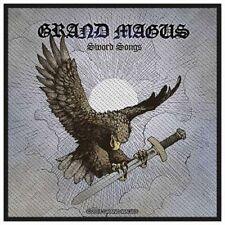 GRAND MAGUS - Aufnäher Patch - Sword Songs 10x10cm