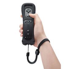 Black Remote Controller Fernbedienung Nintendo fur WII u Schwarz Gamepad Pro