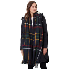 Joules Womens Farah Warm Rectangle Winter Scarf