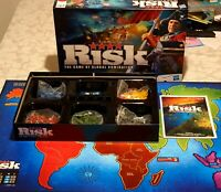 RISK - The Game of Global Domination Strategy Board Game 2010 - 100% COMPLETE