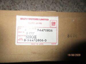 Genuine Isuzu Brake Pad Kit 8-94470806.0