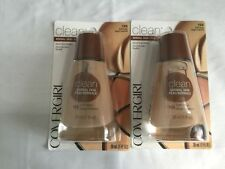 2-COVERGIRL LIQUID FOUNDATIONS 125 BUFF BEIGE BRAND NEW