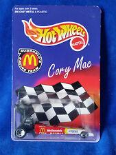 Hot Wheels- Cory Mac Dragster -McDonald's Racing. 1:64 1996
