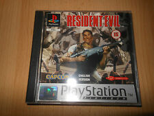 Resident Evil Platinum Playstation One PAL MINT Sammler PS1