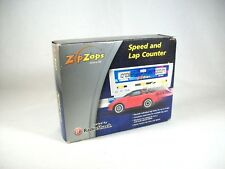 Vintage Zip Zaps Digital Speed and Lap Counter - New and Rare in Sealed Box