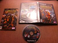 Sony PlayStation 2 PS2 CIB Complete Tested Goblin Commander Unleash the Horde
