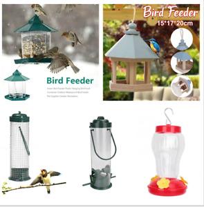 Hanging Wild Bird Feeder Container Hanger Outdoor Garden Feeding Tools