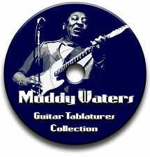 MUDDY WATERS BLUES GUITAR TAB TABLATURE SONG BOOK SOFTWARE CD