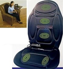 New Remote Control Heated Back Seat Massage Chair Car Home Van Relax Cushion