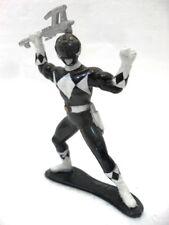 "POWER RANGERS MIGHTY MORPHIN ""figure Black"" BANDAI 1993 plastica cm. 7 + arma"